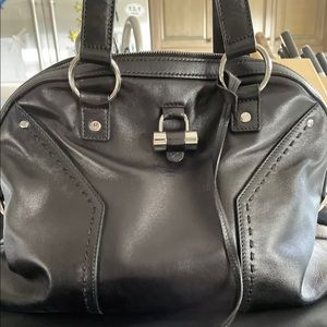 YSL Muse Bag Black Handbag/Shoulder Bag
